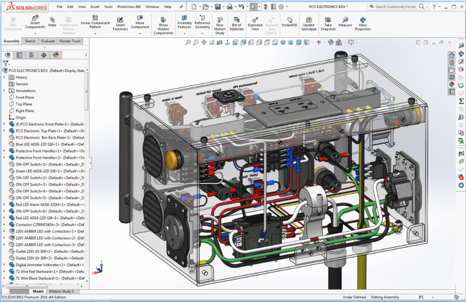 Solidworks Electronics